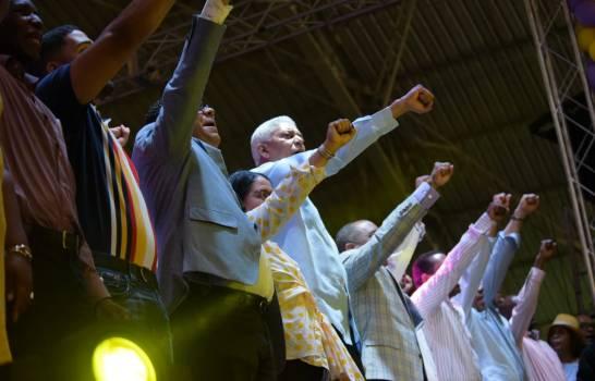 Así fue el acto a favor de Danilo Medina en San Cristóbal