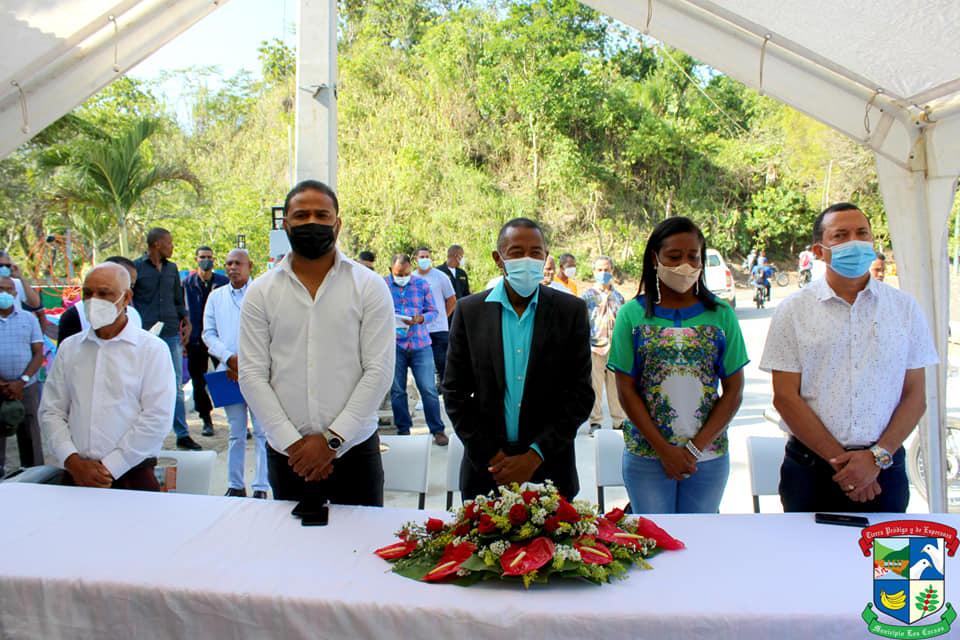 Inauguración del Parque Ecoturístico Los Cacaos
